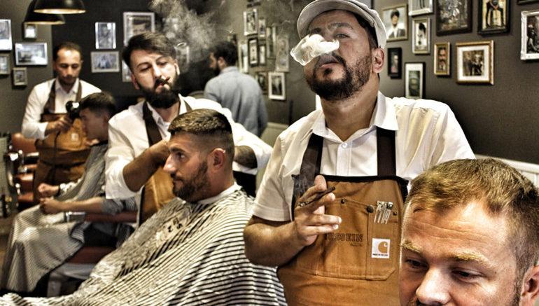 wo m nner einen urlaub in 30 minuten genie en k nnen im barbershop the germanz. Black Bedroom Furniture Sets. Home Design Ideas